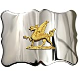 USA Kilts Men's Welsh Dragon Kilt Belt Buckle