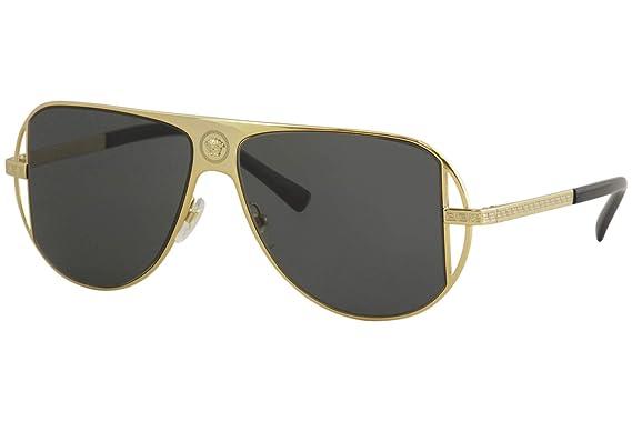Versace 0VE2212 Gafas de sol, Gold, 56 para Hombre: Amazon ...