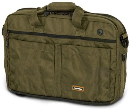 Naneu Pro Military Tech MT-17 - Notebook carrying case - 17'' - olive drab by Naneu