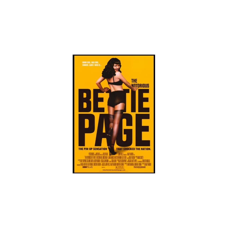The Notorious Bettie Page   Movie Poster   27 x 40