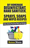 DIY HOMEMADE DISINFECTANT, HAND SANITIZER AND