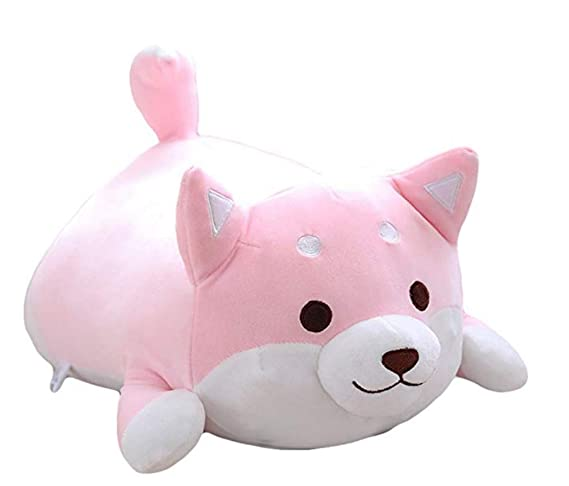 Veeki Dog Plush Pillow Cute Corgi Akita Stuffed Animals Doll ...