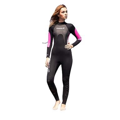 EUCoo_ Wetsuit Damen professionelle Badeanzug Qualle Schwarm