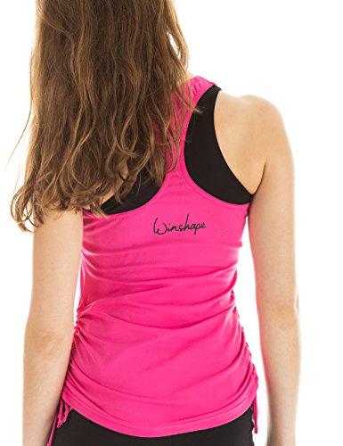 Winshape WVR20 Débardeur pour femme Pour loisirs, sport et danse XS Rose - rose bonbon