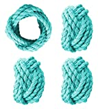YourKart Tommy Bahama Pebble Bay Set of 4 Napkin Rings (Turquise)