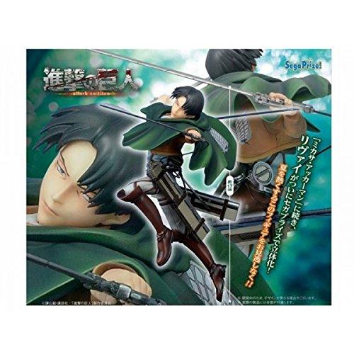 Sega Attack on Titan: Levi Premium Figure