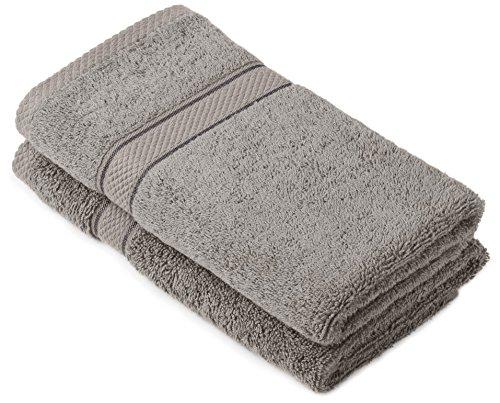 Pinzon by amazon juego de toallas de algod n egipcio - Toallas algodon egipcio ...