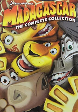Madagascar: The Complete Collection (1-3) (Madagascar 3 On Dvd)