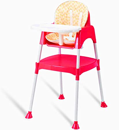 Magnificent Amazon Com Collapsible Highchair Booster Chair Table Squirreltailoven Fun Painted Chair Ideas Images Squirreltailovenorg