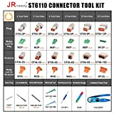 JRready ST6110 DT Connector Kit Gray Connectors