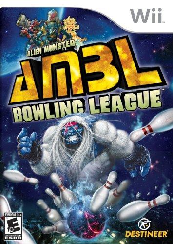 Alien-Monster Bowling League - Nintendo Wii