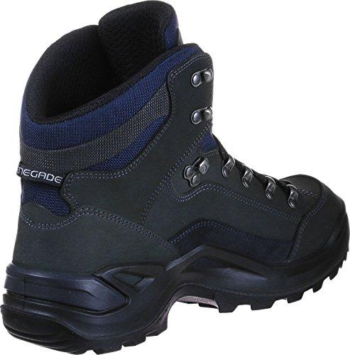 de 310945 Chaussures Randonnée Lowa Homme dunkelgrau Hautes 9449 Mid Marron navy 39 EU GTX Renegade gwUTf