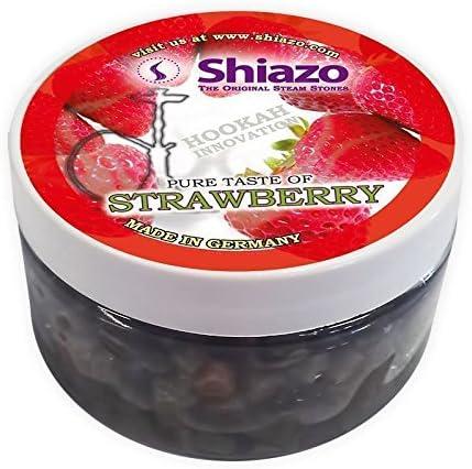 Shiazo 100 g Piedras granuladas para el vapor, sustituye a tabaco, sin nicotina, fresa