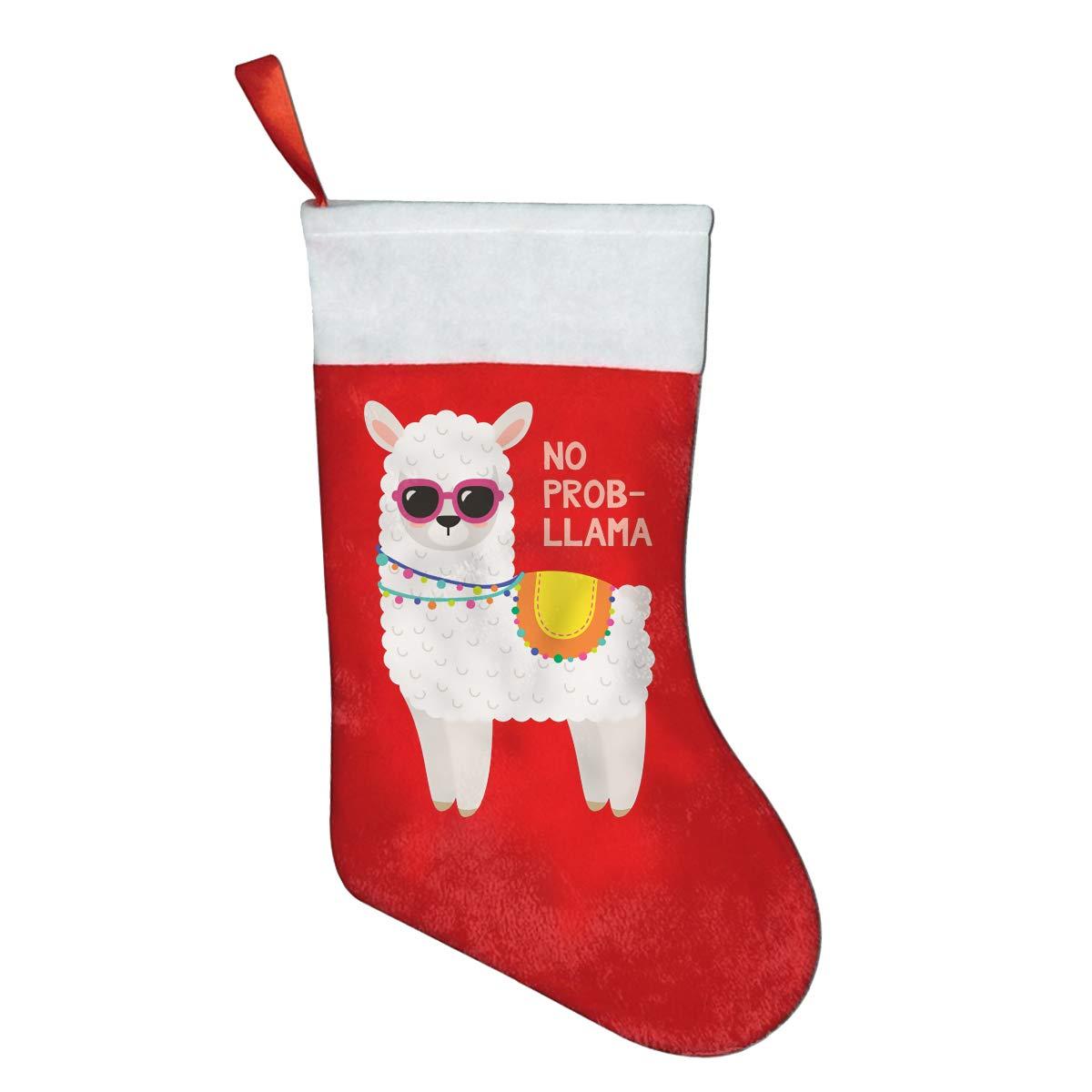 Llama Christmas Stocking.Amazon Com Faceti No Prob Llama Sunglasses Personalized