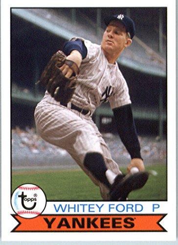 Whitey Ford Baseball Card (2016 Topps Archives #189 Whitey Ford New York Yankees Baseball Card-MINT)