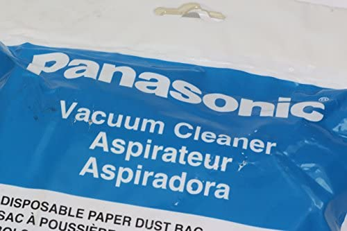 5 Dust Bags for Panasonic Cylinder Cleaners -See Description- PAN.AMC94KUW0