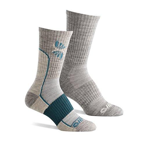 Hi-Tec - Women's Performance Hiking sock; Size: 6-10 - Mixed Heather Grey ()