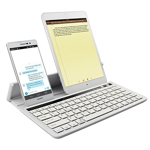 Wireless Aluminum Keyboard for iOS and Android (Classic) - 1