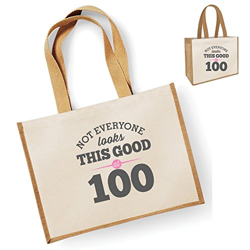 Bag Ladies Birthday Looking Gift Keepsake Gift Novelty Shopping Gift Gift 100th Birthday Women Present Idea Tote Bag Gift Good Female Natural Natural Funny Gifts Ladies Gifts For H6xqwOd