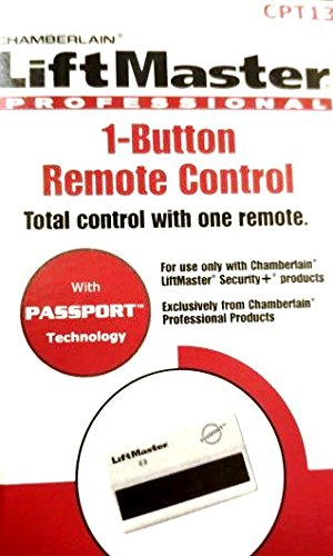 LiftMaster CPT13 Professional 1-Button Remote Control 315 MHz Security+
