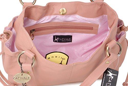 CATWALK COLLECTION - MIA - Bolso estilo shopper - Cuero Rosa