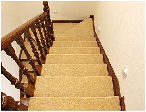 Alfombra Suaves Peldaños para escaleras Hogar Alfombra para escaleras Cinta Libre Alfombras para escaleras Peldaños para escaleras Alfombras para escaleras Antideslizantes Escaleras: Amazon.es: Hogar