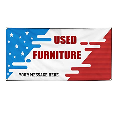 Custom Industrial Vinyl Banner Multiple Sizes Now Open Style O Personalized Text Here Business Outdoor Weatherproof Yard Signs Red 4 Grommets 12x30Inches