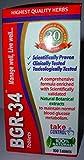 200 BGR-34 TABLETS (2 PACKs) 100% NATURAL HERBAL Blood Glucose Metaboliser Research product of C.S.I.R.