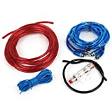 uxcell Vehicle Car Auto Amplifier Audio Power Cable Cord Kit Set