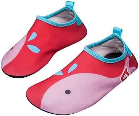 a4081cd256a3 norocos Boys Lightweight Water Shoes Soft Barefoot Shoes Quick-Dry Aqua  Socks Girls Beach Swimming