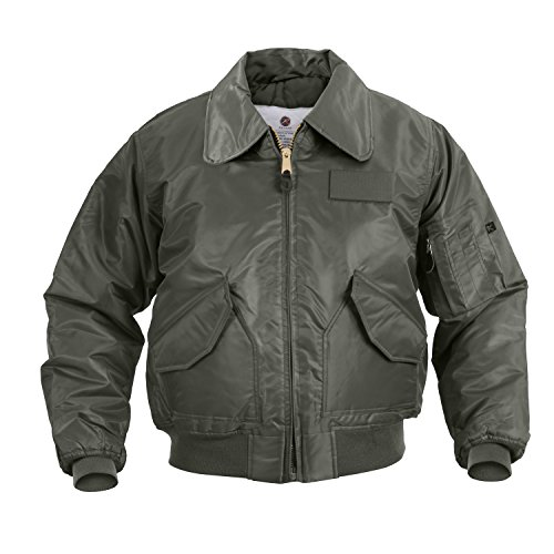 Rothco Cwu-45P Flight Jacket-Sage, Large