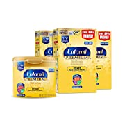 Enfamil PREMIUM Non-GMO Infant Formula - Reusable Powder Tub & Refills, 121.8 oz