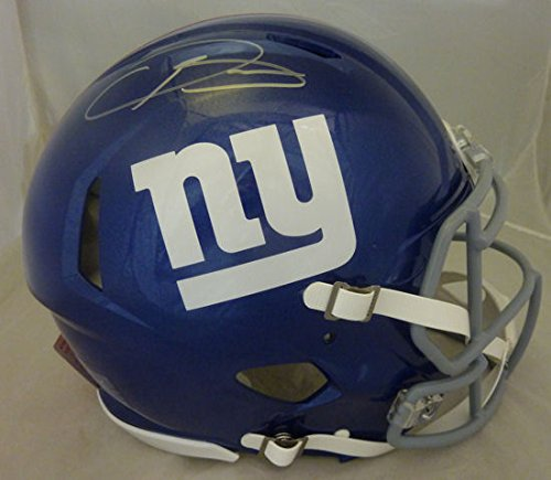 Odell Beckham Jr Autographed New York Giants Full Size speed proline helmet (Autographed Giants Pro Line Helmet)