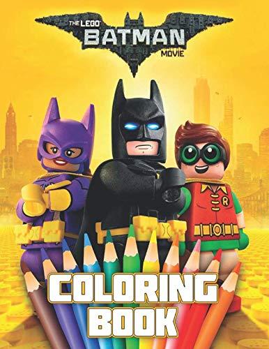 - LEGO BATMAN MOVIE Coloring Book: 37 Exclusive Illustrations