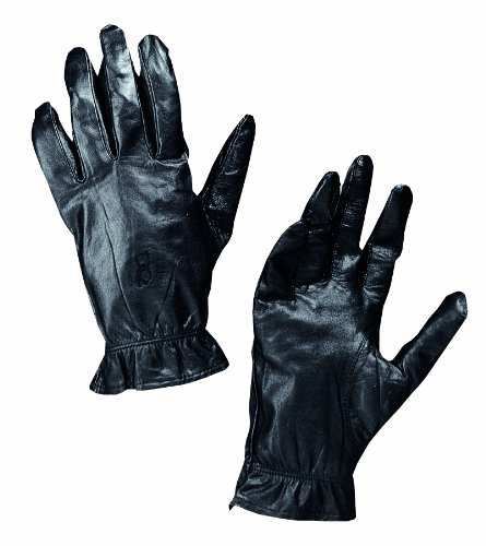 Bob Allen Leather Insulated Gloves (Black, Medium) by Unknown (Image #2)