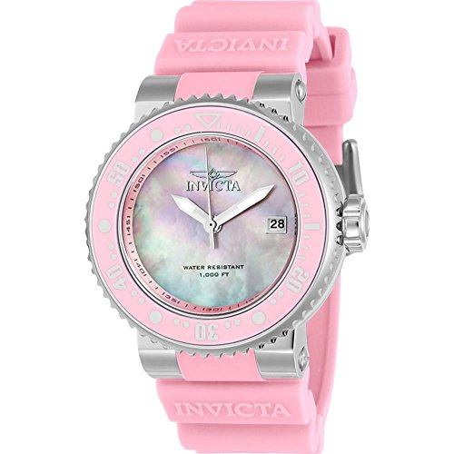 Invicta Pro Diver Mother of Pearl Dial Ladies Watch 22669