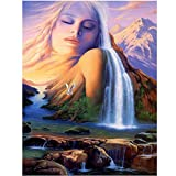 5D DIY Diamond Painting Kits Snow Mountain Goddess Point...