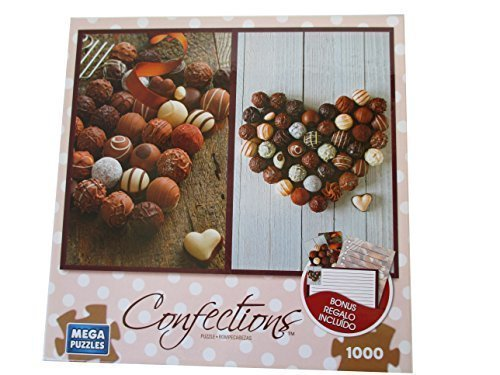Confections Chocolate Truffles with Bonus Stationery Set: 2 Bookmarks-1 Shopping List-1 Note Card (Notes Truffle)