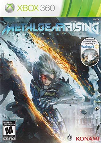 Metal Gear Rising: Revengeance Video Game With Walmart Exclusive Instrumental Soundtrack (Xbox 360) (Metal Gear Rising Revengeance 360)