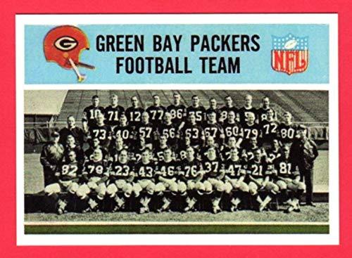 - Green Bay Packers 1966 Philadelphia Card Co. Team Reprint Card (First Super Bowl Winner)