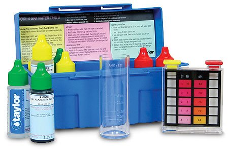 - taylor K-1004 Troubleshooter DPD Pool and Spa Water Test Kit