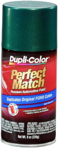 Dupli-Color BFM0350 Amazon Green Metallic Ford Exact-Match Automotive Paint - 8 oz. Aerosol - Ford Green