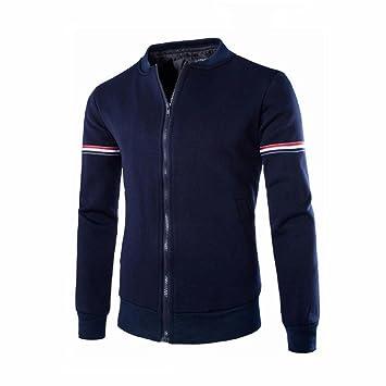 Amlaiworld_Hombre Chaqueta de Hombre Sudaderas con Capucha Pullover Camisetas Camisas Abrigo de otoño Invierno Cárdigan Outwear -