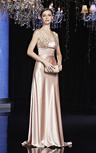 44 Donna Ad Beauty Linea Beige A emily Vestito Sv080XaW