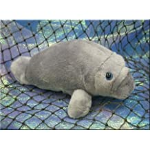 "Wishpets Baby Manatee Plush Toy 8"" Gray"