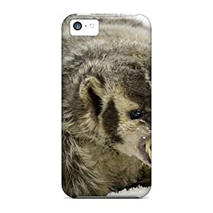 Ultra Slim Fit Hard Finleymobile77 Cases Covers Specially Made For Iphone 5c- Badger