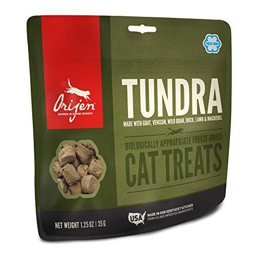 Orijen Freeze-Dried Cat Treats, Tundra, Biologically Appropriate & Grain Free, 1.25 Ounces