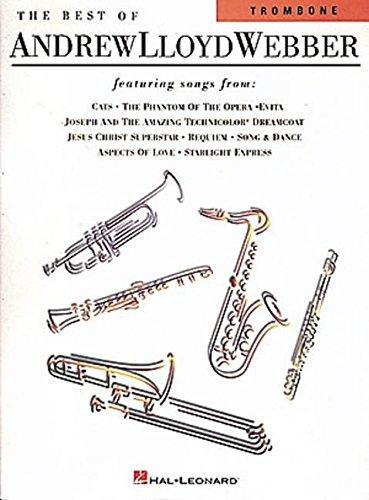 Trombone Lloyd Webber Andrew - The Best of Andrew Lloyd Webber: for Trombone