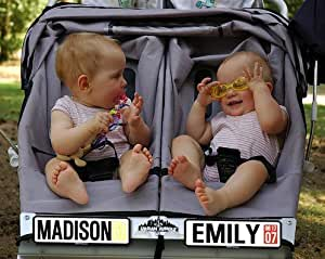 Personalized Baby Stroller License Plate New Baby Gift