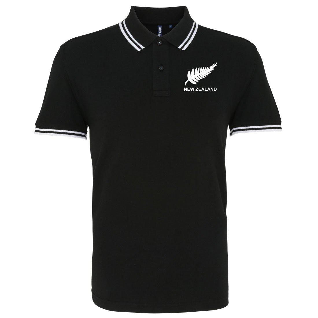 Retro für Herren New Zealand Rugby Polo für Herren